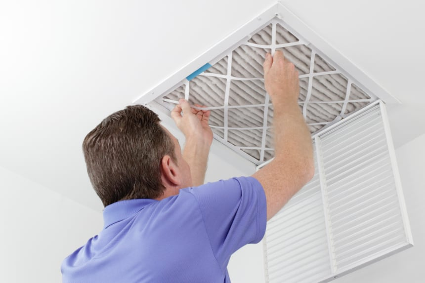 Air filter HVAC maintenance in Westfield